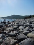 Skilak See, Kenai-Halbinsel, Alaska Stockfotos