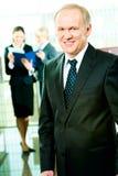 Skilful manager Stock Photo