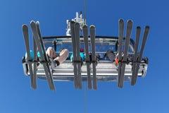 Skilift Imagem de Stock