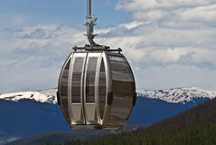 Skilift. Ski lift in Breckenridge Colorado Stock Photo