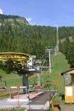 skilift Fotografia Royalty Free