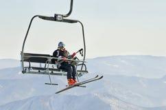 Skilift Royalty-vrije Stock Fotografie