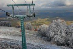 Skilift royalty-vrije stock afbeeldingen