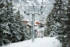 Skilift Stock Photo