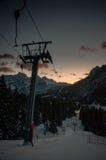 Skilift Fotos de Stock