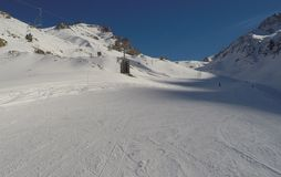 Skilift in Argentina Stock Image