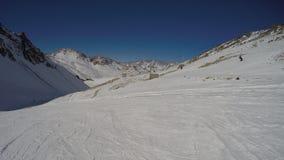 Skilift, Argentinien Ski Resort Lizenzfreie Stockfotografie