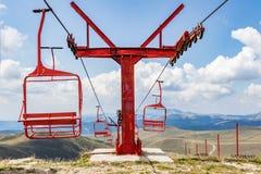 Skilift imagem de stock royalty free
