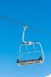 Skilift on ski resort during winter Royalty Free Stock Images