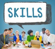 Skill Ability Qualification Performance Talent Concept Royalty Free Stock Photos