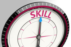 Skill as a concept word Stock Photos