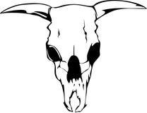 Skill bull. Vector illustration skill bull or cow Royalty Free Stock Image