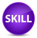 Skill elegant purple round button Royalty Free Stock Photography