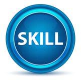 Skill Eyeball Blue Round Button. Skill Isolated on Eyeball Blue Round Button stock illustration