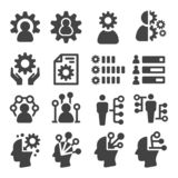 Skill icon. Skill,ability icon set,vector and illustration vector illustration