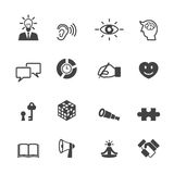 Skill icons Royalty Free Stock Photography