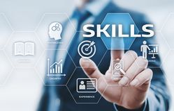 Free Skill Knowledge Ability Business Internet Technology Concept Stock Photos - 101370963