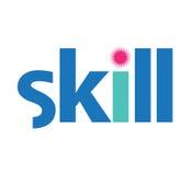 Skill Logo Concept Design Stock Image