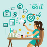 Skill people Royalty Free Stock Image