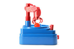 Skill Tester Toy. On White Background Stock Images
