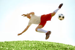 Skilled player Royalty Free Stock Photo