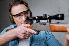 Free Skilled Professional Marksman Having Target Practice Royalty Free Stock Photo - 89883695