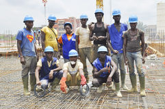 Skilled workers Stock Photo