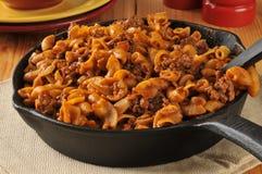 Skillet casserole Stock Photos