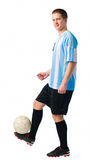 Skillful player Stock Image