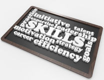 Skills,expertise,goals,leadership,career Stock Images