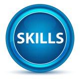 Skills Eyeball Blue Round Button. Skills Isolated on Eyeball Blue Round Button vector illustration