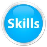 Skills premium cyan blue round button Stock Photo