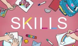 Skills Job Profession Expertness Aptitde Concept Royalty Free Stock Photography