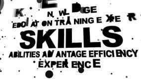 Skills oriented words