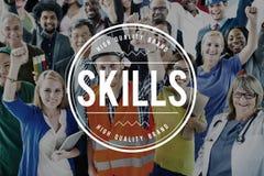 Skills Talent Expert Aptitude Proficiency Professional Concept Stock Image