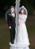 Skilsmässa av par Arkivbilder
