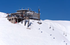 Skimitte Kasprowy in Tatras, Polen Bergstation Stockfotos