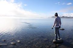 skimming камни Стоковые Фото