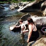 skimming камни Стоковое Изображение