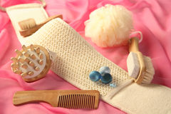 Skin And Bodycare Accessories Royalty Free Stock Photos