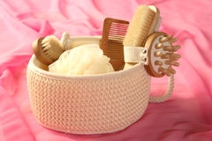 Skin And Bodycare Accessories Royalty Free Stock Image