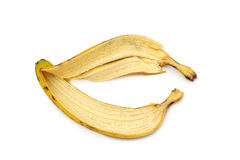 The skin of a banana Stock Photos