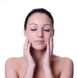 Skin and beauty care Royalty Free Stock Images