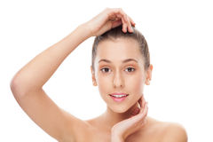 Skin and beauty care Stock Photo