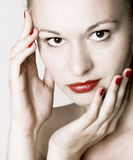 Skin Care. Beauty. Royalty Free Stock Photography
