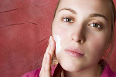 Skin care. Beauty. Royalty Free Stock Photo