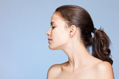 Skin care beauty. Stock Photos