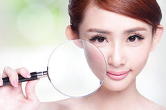 Skin Care Concept Stock Photography