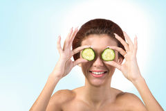 Skin Care Face Royalty Free Stock Image