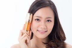 Skin care girl Royalty Free Stock Photos